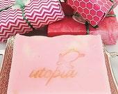 Utopia Bath Pink Grapefruit Soap