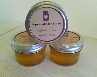 Wedding favors!    Mini mason jar jam & jelly    Custom orders, Shower favors, Christmas gifts