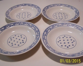 Oxford Made in Brazil Blue Design Bowls