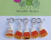 Candy Corn Cuties - Snagless Stitch Markers