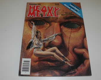 HEAVY METAL (November 1982)