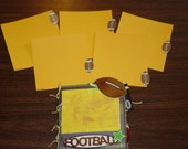 6x6 Football Paper Bag Scrapbook Album