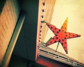 Vintage Star Light Photograph | Portland Oregon | Hipster | Urban | Lomo Print | Barn Star