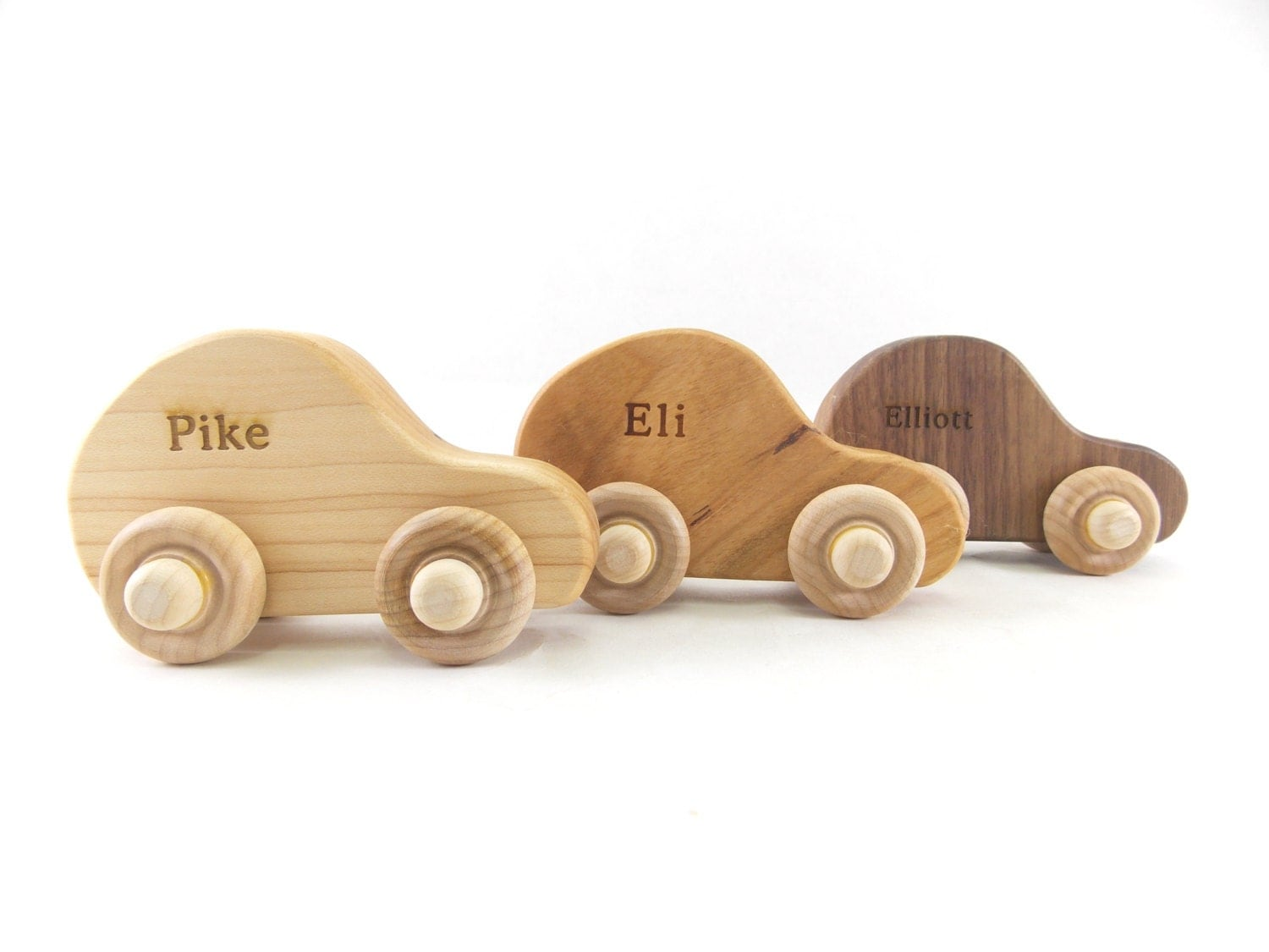 Wooden Toy Car Personalized Toy Car Organic and Eco