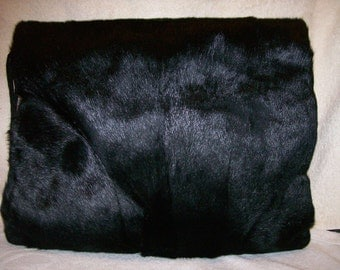 Horsehair Muff Purse Combination.  Set of 2  1920's