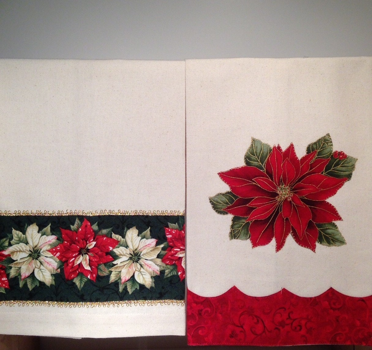 Christmas Holiday Kitchen Towels Dish Towels Tea Towels Set