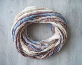 SALE! Infinity Scarf - Loop Scarf - Circle Scarf - Cowl Scarf - Chunky - Multicolored