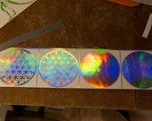 6Inch Flower of Life Decal (Holographic)