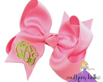 pink bows hair etsy