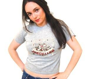 Vintage Jerusalem Cropped Tshirt