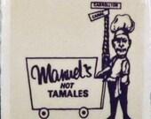 Manuel's Hot Tomales Coaster