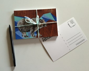 Bear Postcard Set of Ten