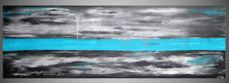 180 x 60 x 4 cm Originele Moderne Abstracte door acrylkreativ