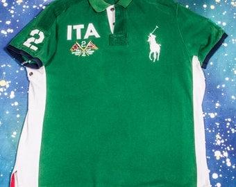 ITALY Polo Shirt Size XL