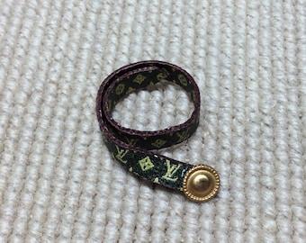 Designer Belt - by Pat Tyler Leather DOLLHOUSE Miniatures