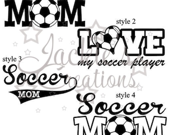 Soccer/Soccer Mom Decals