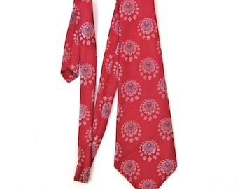 """Vintage men's necktie Male tie """"Juwel"""" from 80s"""