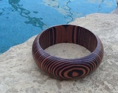 Wood Bangle Bracelet! Layering Bangle~ Simplicity at it's Finest! Beautiful Gift!