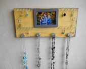 Sale Jewelry Organizer Photo Frame Display Board for Earrings and Necklaces Scarves Woman's Wall Rack - READY TO SHIP