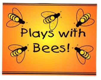 New Plays with Bees postcard - lot of 8