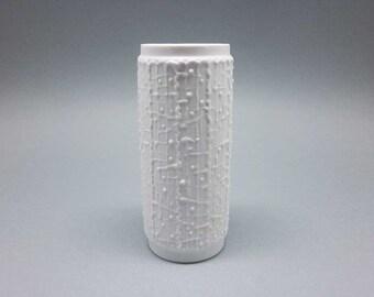 Op Art vase by Kerafina / Royal Bavaria KPM
