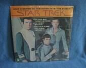 "SEALED Vintage, Star Trek - ""4 Exciting All New Action Adventure Stories"" Vinyl LP Record Album, William Shatner Leonard Nimoy, New Oldstock"