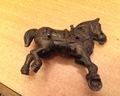 Antique Cast Iron Horse
