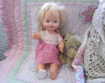 1978 Mattel  Baby grow Up Doll 2 dolls in One :)
