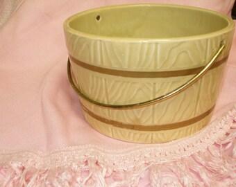 Hull Pottery Bucket