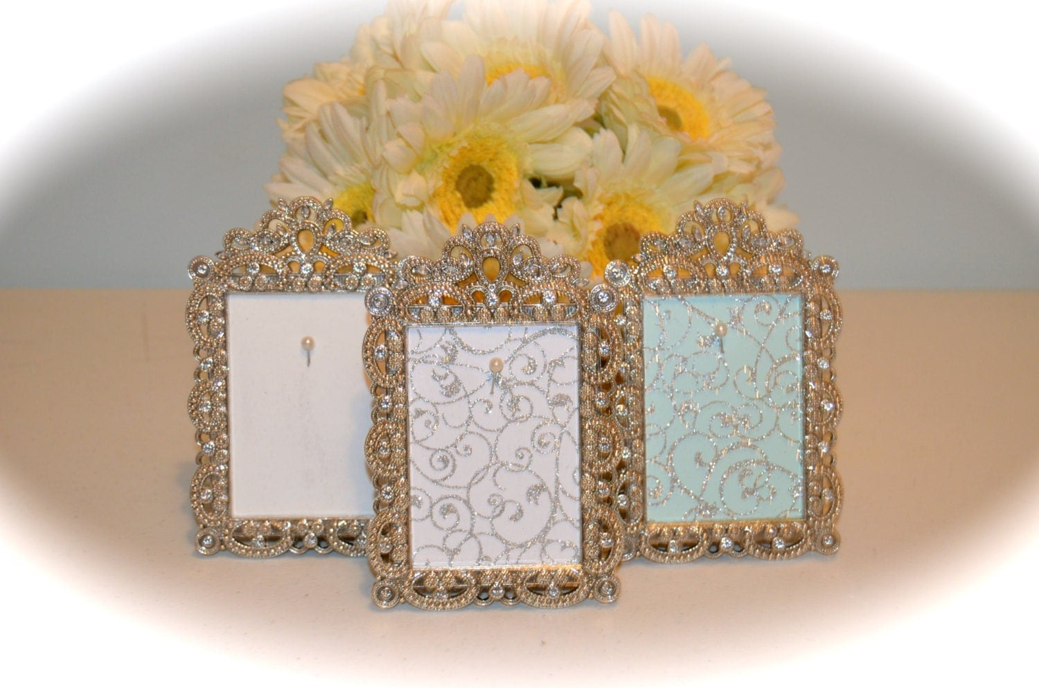 engagement wedding ring picture frame ring holder 2 5