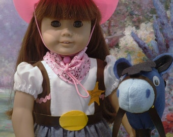 Sheriff Callie and Sparky for American  Girl Dolls