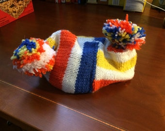 Silly knitted hat