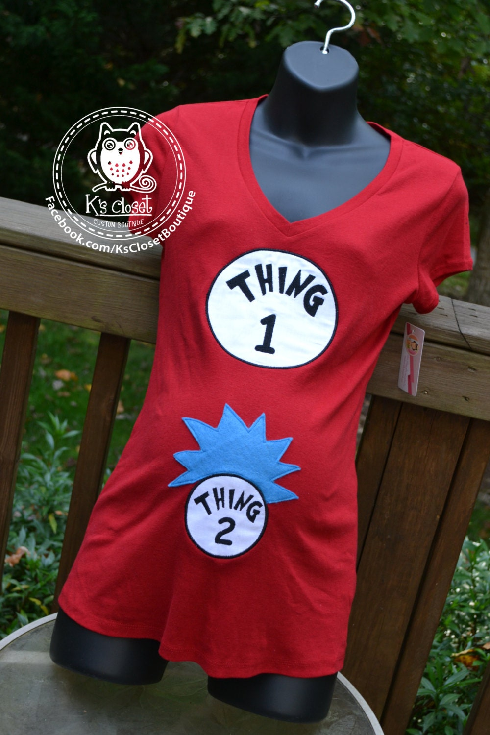 Thing 1 And Thing 2 Gender Announcement Or By Ksclosetboutique