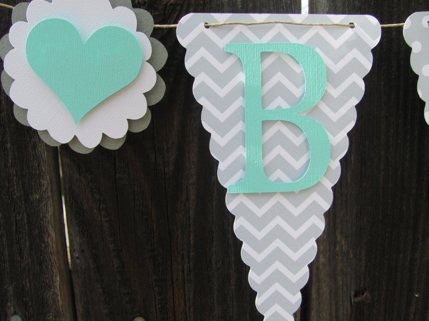 baby shower banner baby shower decorations turquoise and