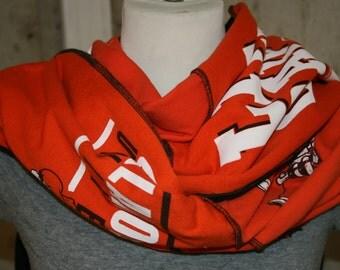 T Shirt Scarf Necklace Oklahoma State OSU Cowboys Pistol Pete Orange Black