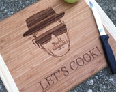 HUGE SALE Breaking Bad cutting board, Let's Cook, Heisenberg, Walter white, Heisenberg cutting board