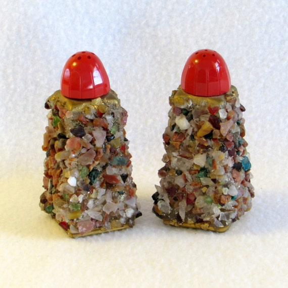 Decorative Salt And Pepper Shakers Pebbles Rocks By Dayjahview