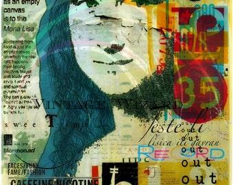 Mona lisa ,Digital download photography,digital art,Digital print,Collage,Surreal, Surreal art,Collage sheet, Printable