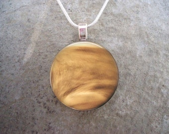 Venus Jewelry - Glass Pendant Necklace - Astronomy