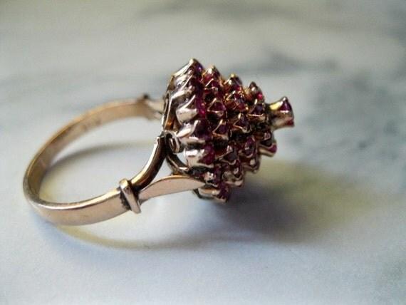 items similar to genuine ruby thai princess ring ruby