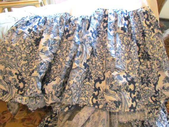ralph tamarind king bed skirt dust ruffle