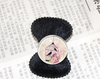 """ring adjustable size """"bird cage"""" # 15"""