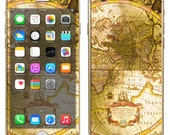iPhone 6 ~or~ iPhone 6 Plus + : Old World Map Maps Globe Vintage - NOT a HARD case