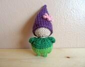 Spring Wool Waldorf Pocket Gnome