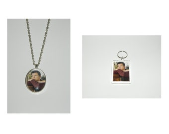 Rick Astley Pendant Necklace and/ or Keychain