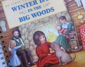 Little House on the Prairie Winter Days in the Big Woods Recycled Journal Notebook