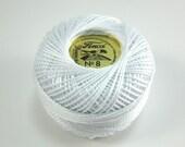 Finca Perle Cotton Thread Pearl Cotton - White