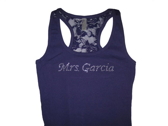 Bride Tank Top Shirt. Personalized Tank Top. Custom Shirt. Future Mrs. Soon To Be Mrs. Wedding Tank Top. Engagement Gift.