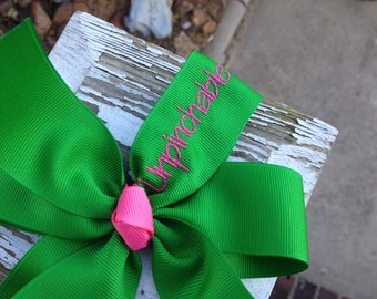 Unpinchable St. Patrick's Day Hair Bow