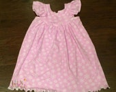Winter Snowflakes Dress Size 18 months to 8 years